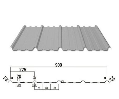 墙面板YX15-225-900型
