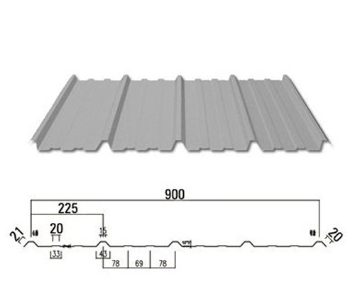 锡林郭勒墙面板YX15-225-900型