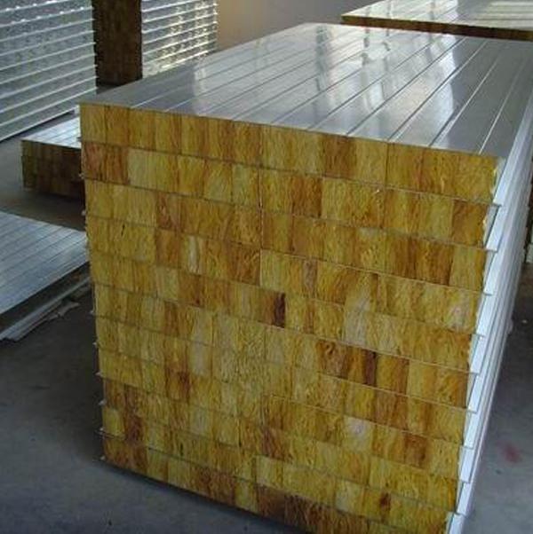 岩棉夹芯板系列定制